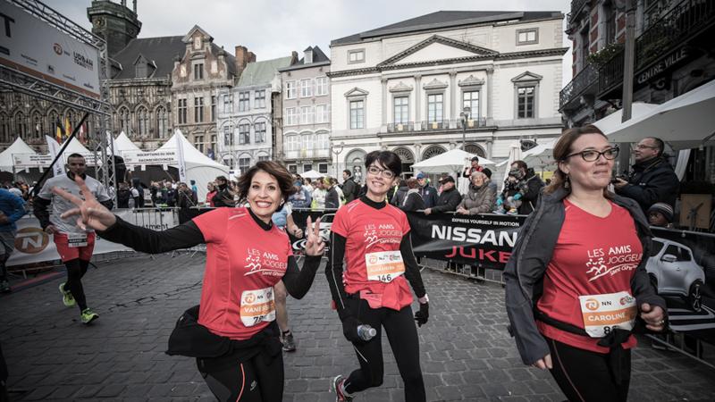Une quatrième édition du DH Mons Urban Trail réussie et corsée