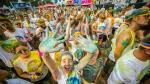 Le soleil donne encore plus de couleur à The Color Run