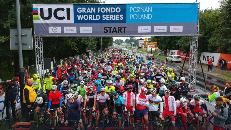 More than 6000 riders faced the rain in 4th Skoda Poznan Bike Challenge
