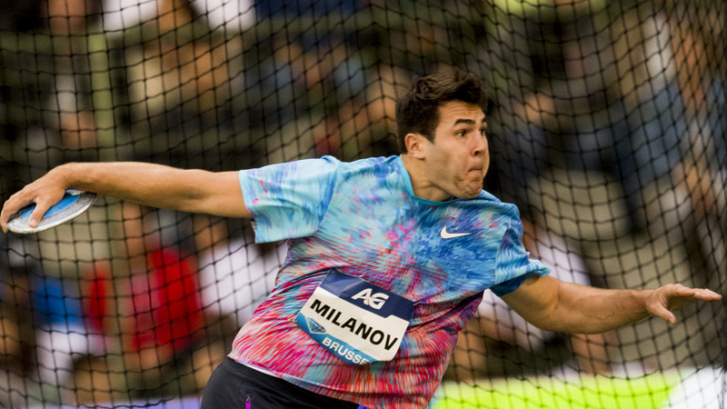 Bett and Milanov post 4th place finishes at Diamond League final in Brussels