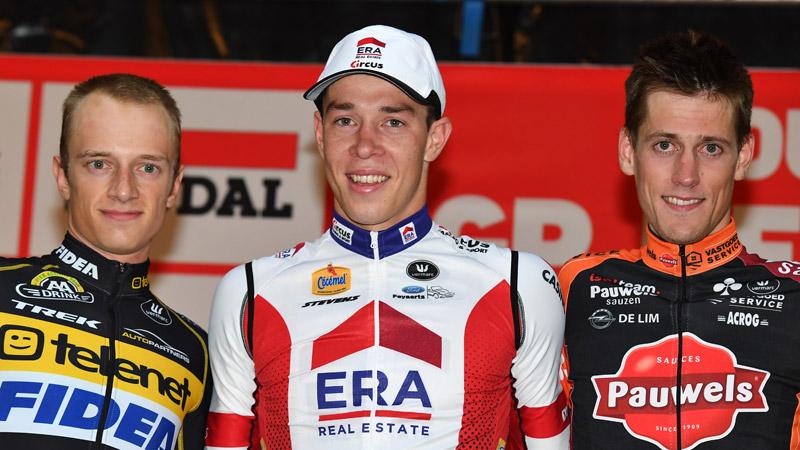Laurens Sweeck grijpt in Soudal GP Neerpelt derde zege van het seizoen