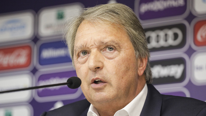 Van Holsbeeck: 'Weiler attendait plus de respect de la part des supporters'