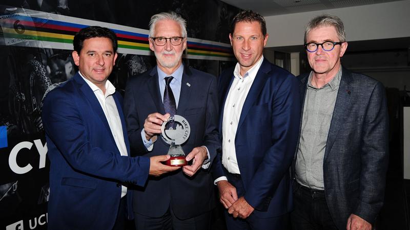 Heusden-Zolder door UCI beloond met Bike City Label