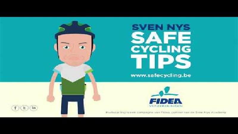 Leer het hele jaar door veilig fietsen met Sven Nys en Fidea