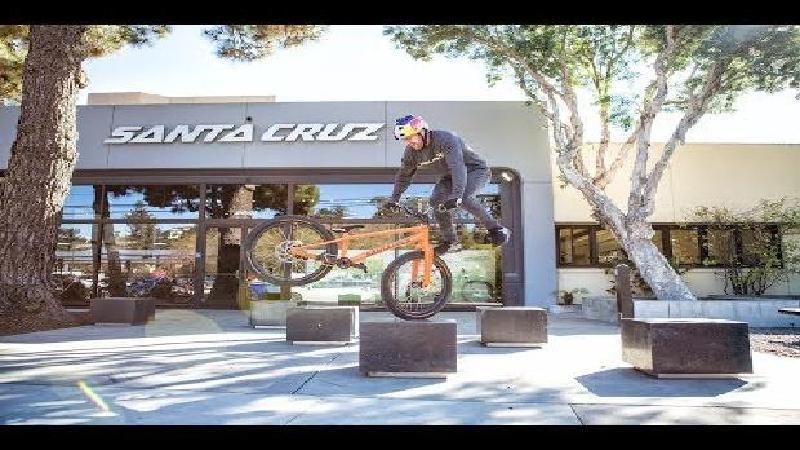 Santa Cruz gebruikt onbreekbaar carbon voor trialsbike MacAskill