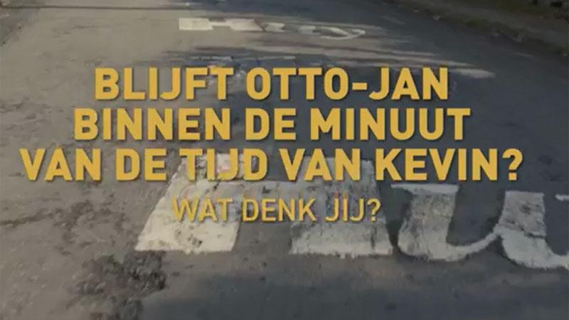 Challenge op de Muur van Hoei. Wie wint?