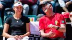 Kapitein Van Aken tevreden na eerste dag op Fed Cup