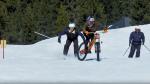 Wibmer ontwijkt politie met mountainbike op skipiste (VIDEO)