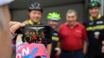 Doorkruis samen met Eddy Merckx de drie gewesten