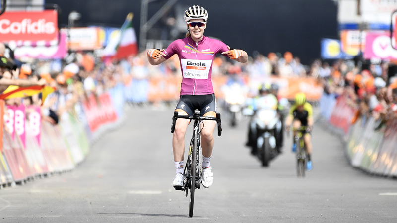 Van der Breggen remporte aussi Liège-Bastogne-Liège féminin