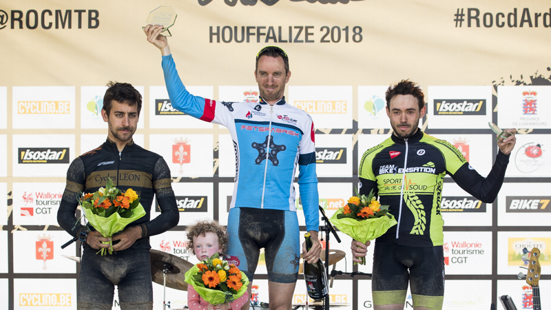 Podium international au Roc Marathon, Van Hoovels vainqueur final du Roc Trophy