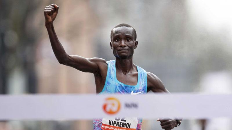 Kipkemoi and Jepkesho take Rotterdam Marathon titles