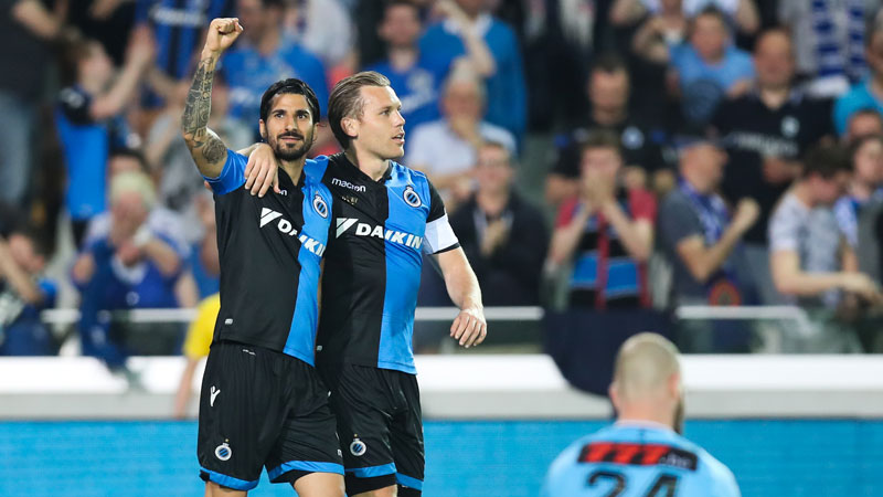 6-0 in Club Brugge - Charleroi geen record
