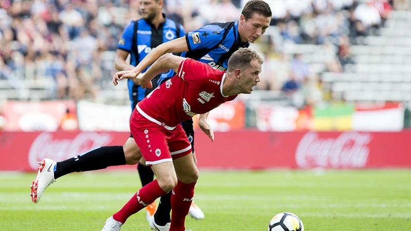 Bruges perd ses premiers points à l'Antwerp