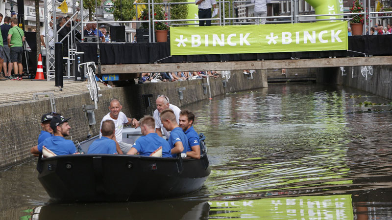 BinckBank Tour: Ploegenpresentatie Bolsward