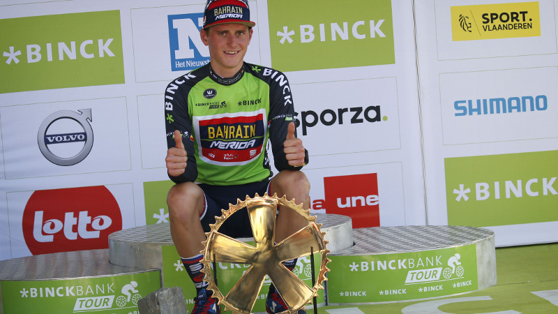 Mohoric: 'Most beautiful win in my career'