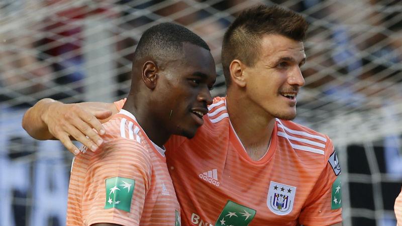 Anderlecht-aanvallers toppen klassement Gouden Stier