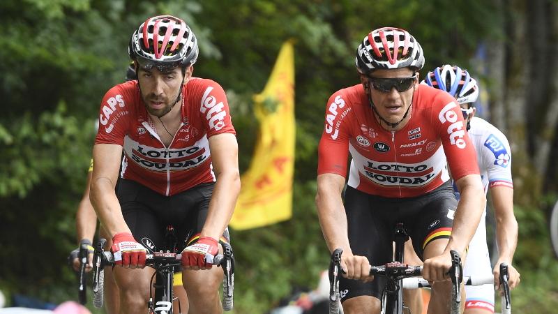 Lotto Soudal neemt zeven Belgen mee naar de Vuelta