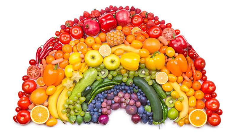 Welke voordelen hebben de verschillende kleuren groenten & fruit?