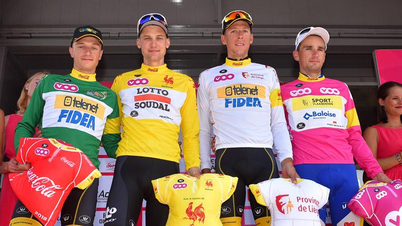 Verdienstelijke tweede plek voor Hermans in Tour de Wallonie