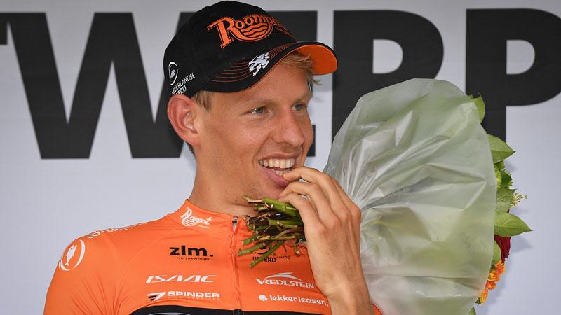 Van der Hoorn: 'Vier maanden geleden dacht ik dat ik wielrenner af was'