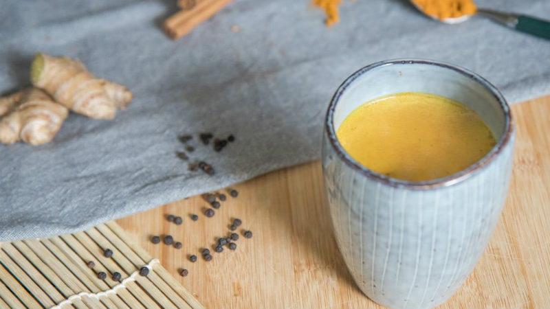 Recept: healthy golden milk