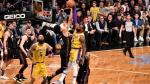 Lakers verliezen van Brooklyn ondanks 36 punten van James