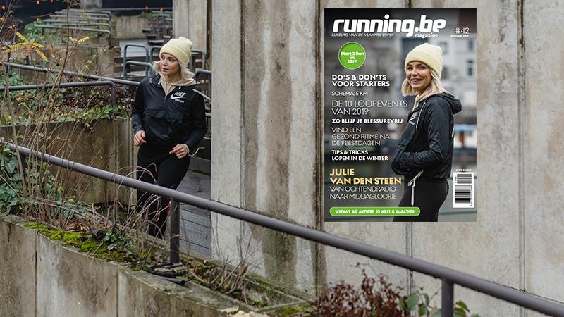 Start 2 Run in 2019 met het nieuwe running.be magazine