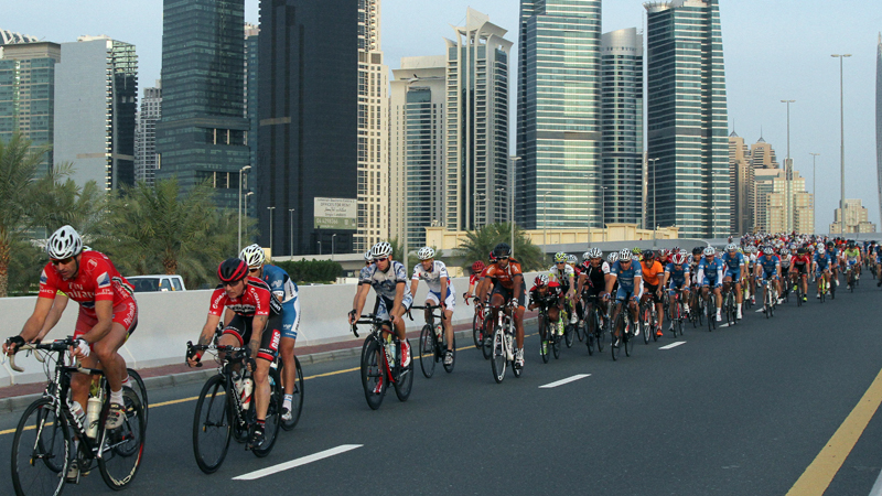 LOOK UCI Gran Fondo in Dubai offers iconic views in international field