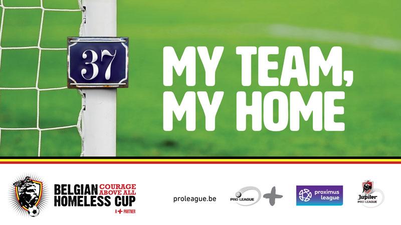 Kerstactie ten voordele van Belgian Homeless Cup start maandag om 23u!