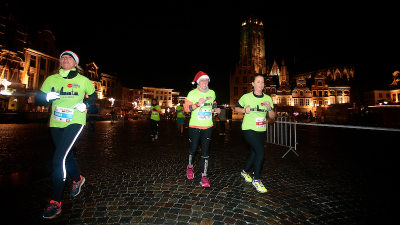 Le GvA Mechelen Urban Trail goutte que goutte