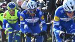 Gaviria likt zijn wonden na de Omloop Het Nieuwsblad