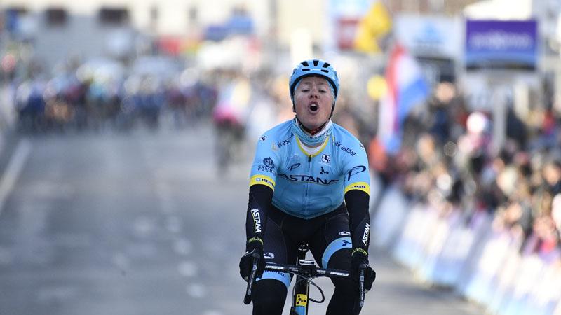 Valgren Andersen rondt perfect ploegenspel van Astana af
