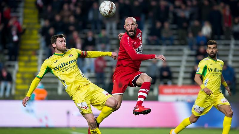 Antwerp en KV Oostende delen punten na brilscore