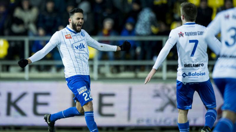 AA Gent wint in extremis van Waasland-Beveren