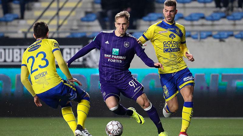 Anderlecht nu ook kopje onder in Sint-Truiden
