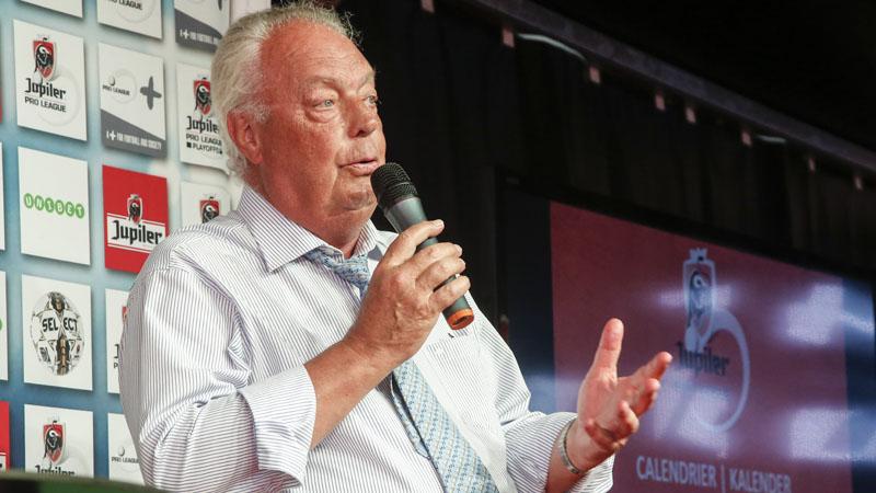 Roger Vanden Stock quitte la présidence de la Pro League