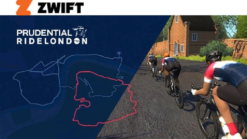 Zwift-parcours in Londen breidt uit naar de hoogtes van Surrey