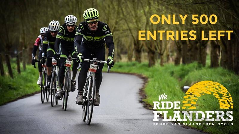 Vous êtes  prévenus: We Ride Flanders pratiquement complet!