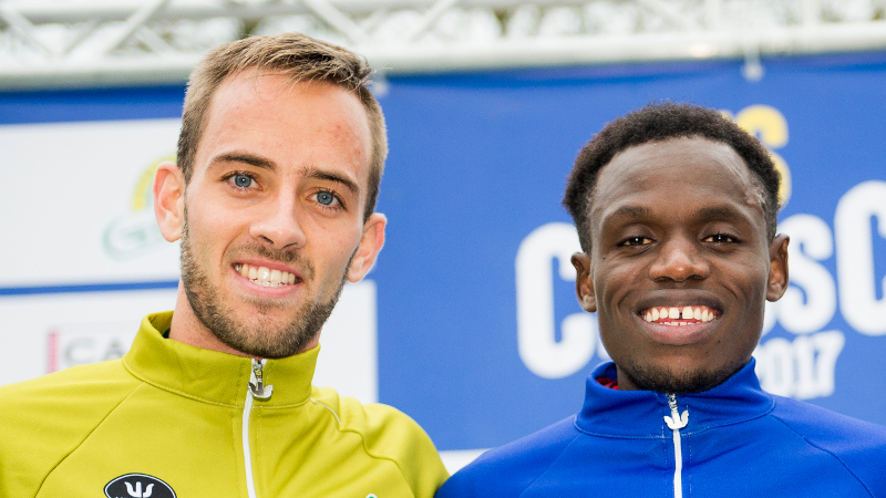 Belgische aflossingsploeg verrast in mixed relay