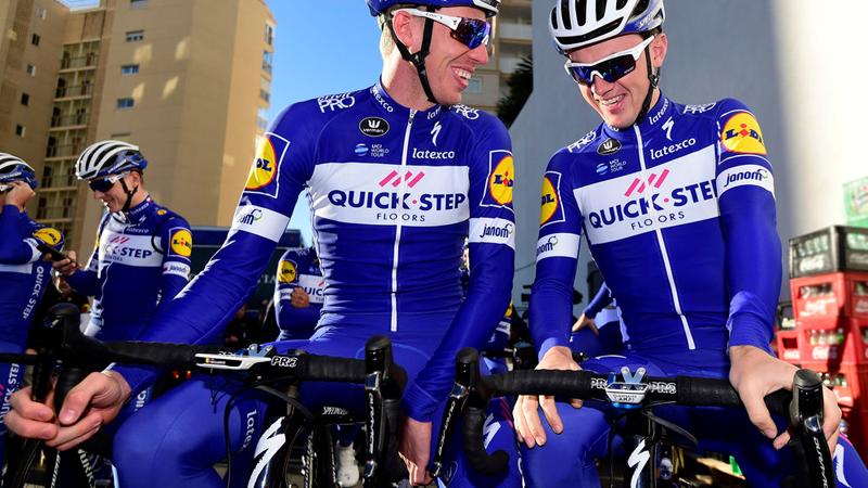 Quick-Step-renners krijgen nieuwe cockpit
