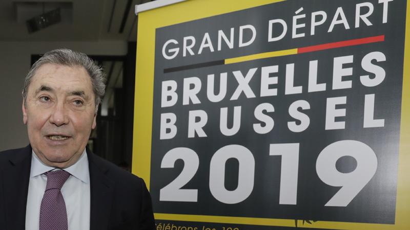 Tour 2019 start op Brusselse Grote Markt
