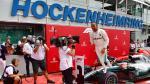 Hamilton slaat dubbelslag in chaotische GP van Hockenheim