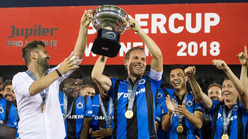 Club Brugge pakt de eerste prijs van het seizoen