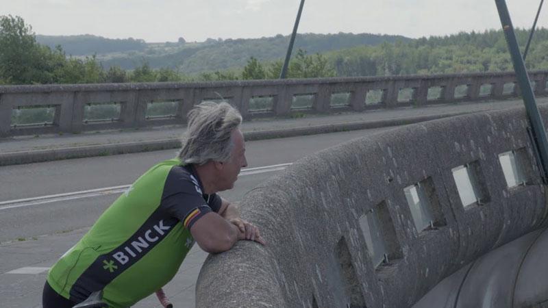 Eddy Planckaert lyrisch over Lacs de l'Eau d'Heure