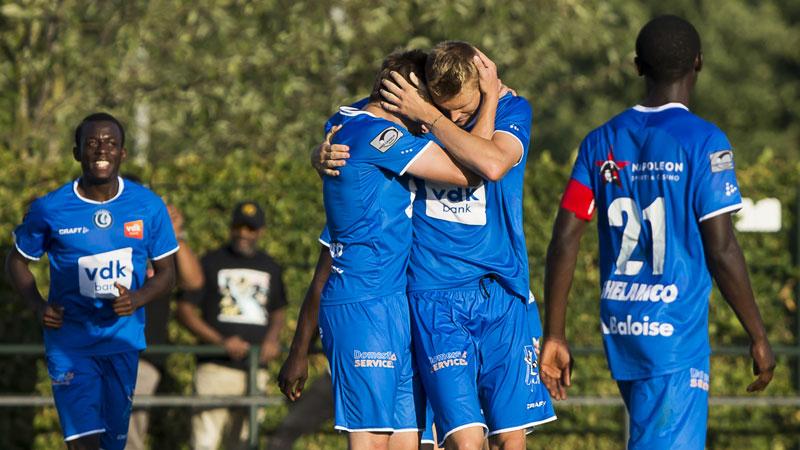 AA Gent en Kortrijk scoren late gelijkmakers