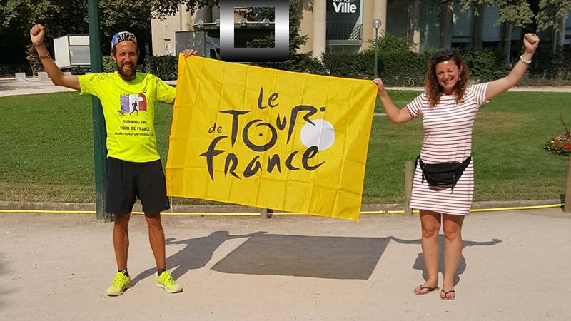 Mission accomplie: le Tour de France à pied