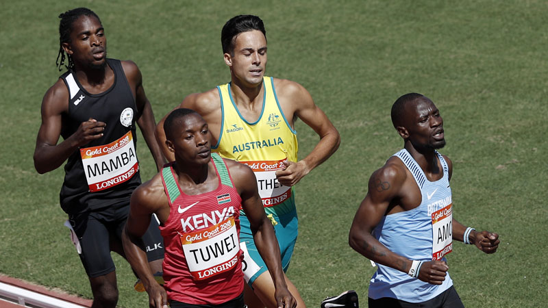 Tuwei ends busy week of racing ranked no. 10 in the world at 800 meters