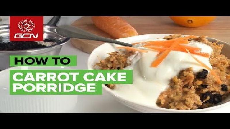 RECEPT: Alternatief sportontbijt met worteltaartpap