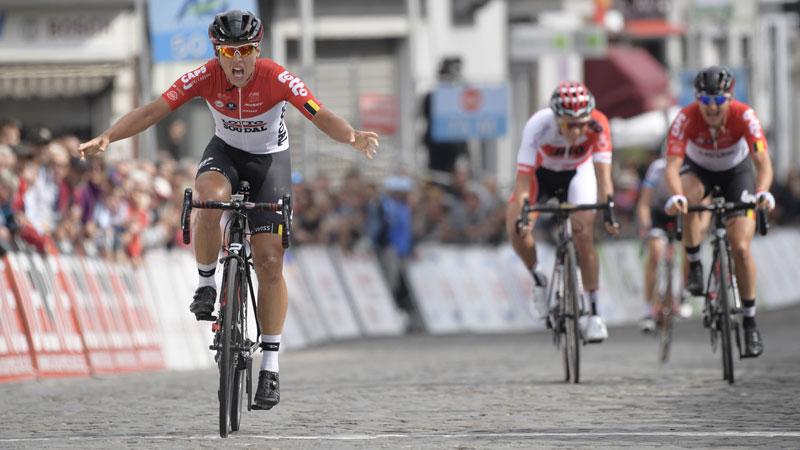 Dom nieuwe Belgische kampioenene op de weg, Cant pakt brons